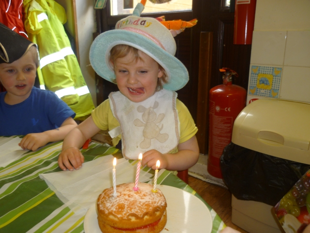 Laurie turns 3