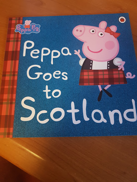 peppa goes to scotland